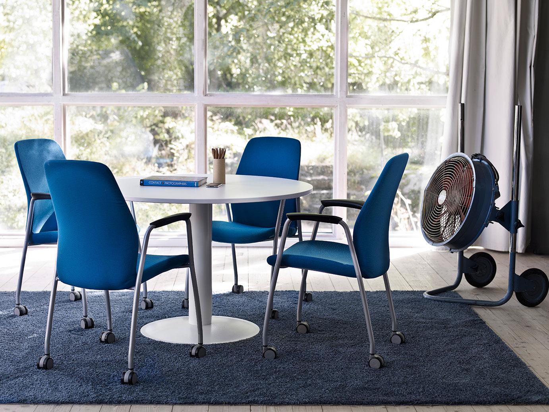 Series e one tables de réunion mobilier de bureau kinnarps