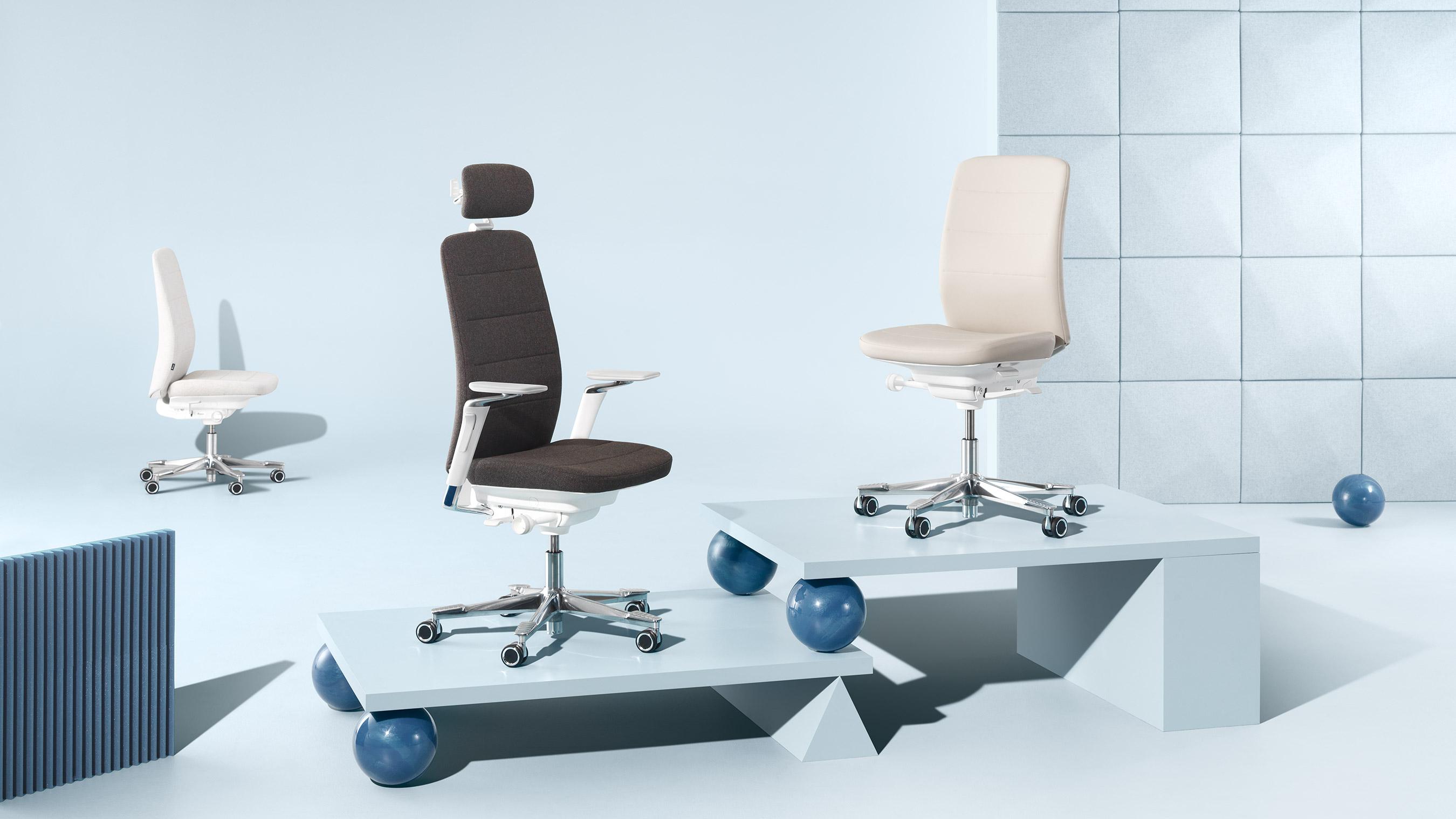 Capella sièges de travail mobilier de bureau kinnarps