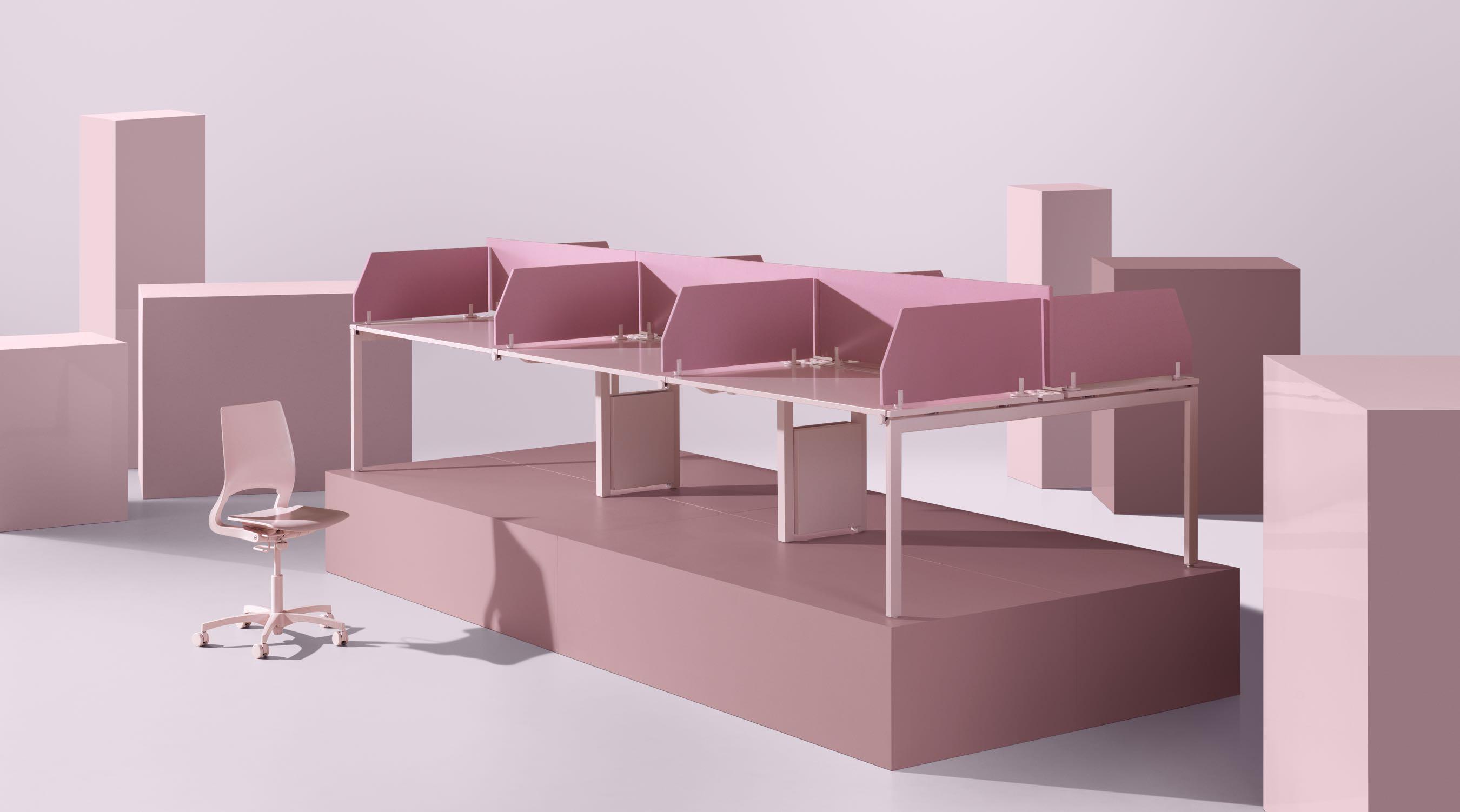 Nexus bureaux mobilier de bureau kinnarps