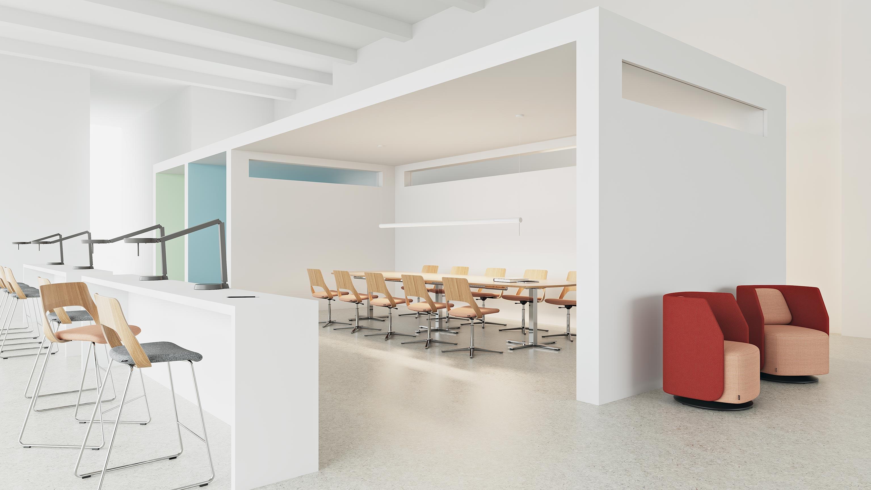 Kinnarps mobilier de bureau suédois depuis
